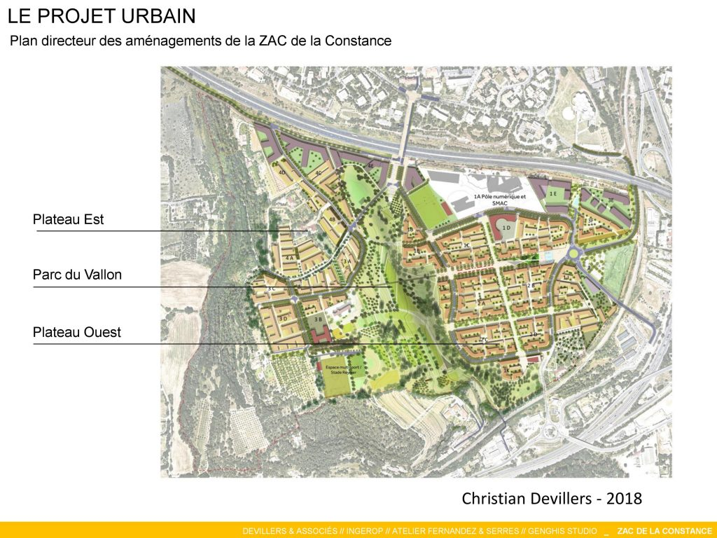 La Constance : Le projet urbain