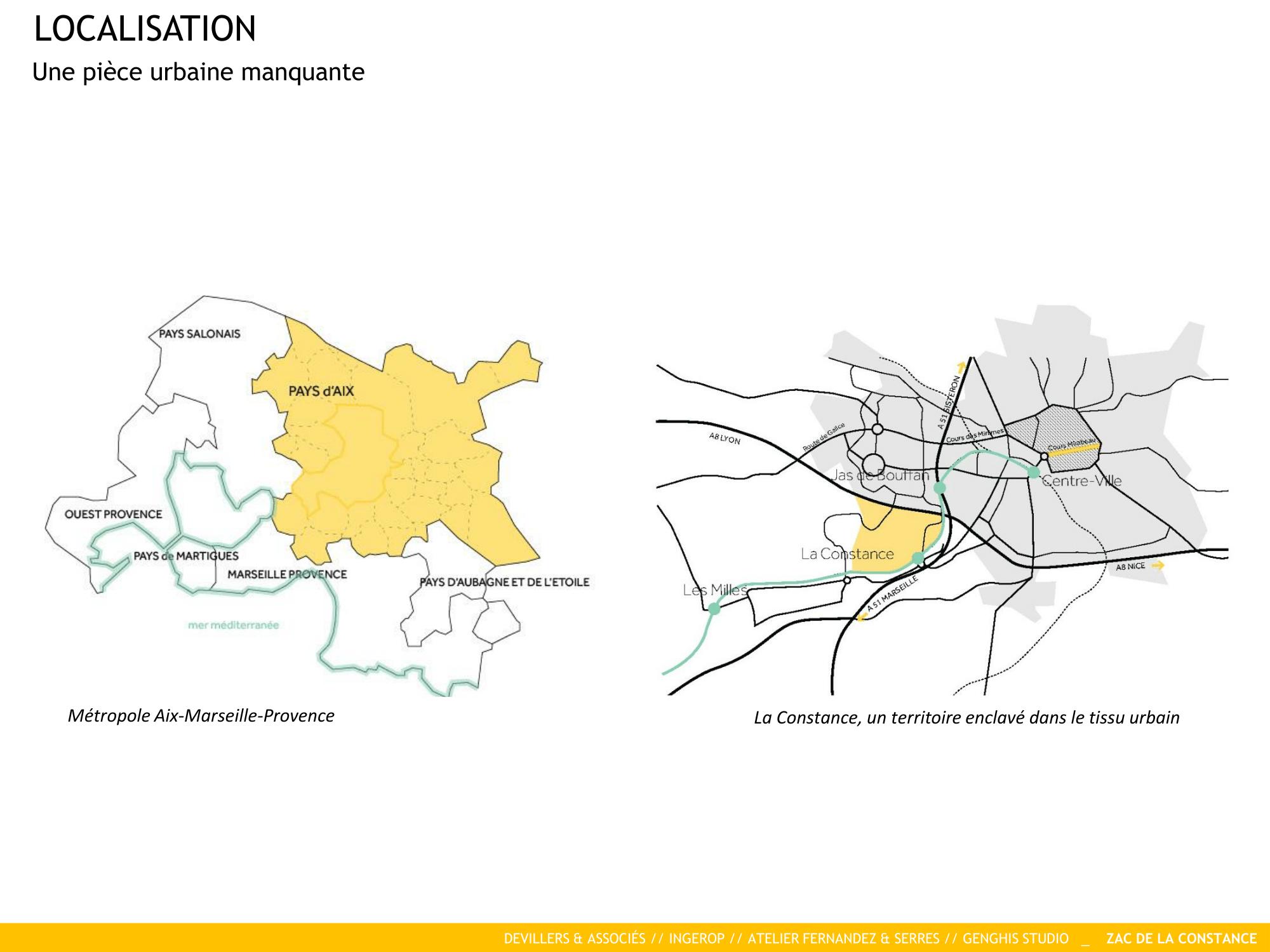 Localisation de La Constance