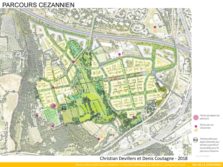 La Constance : Parcours Cézannien