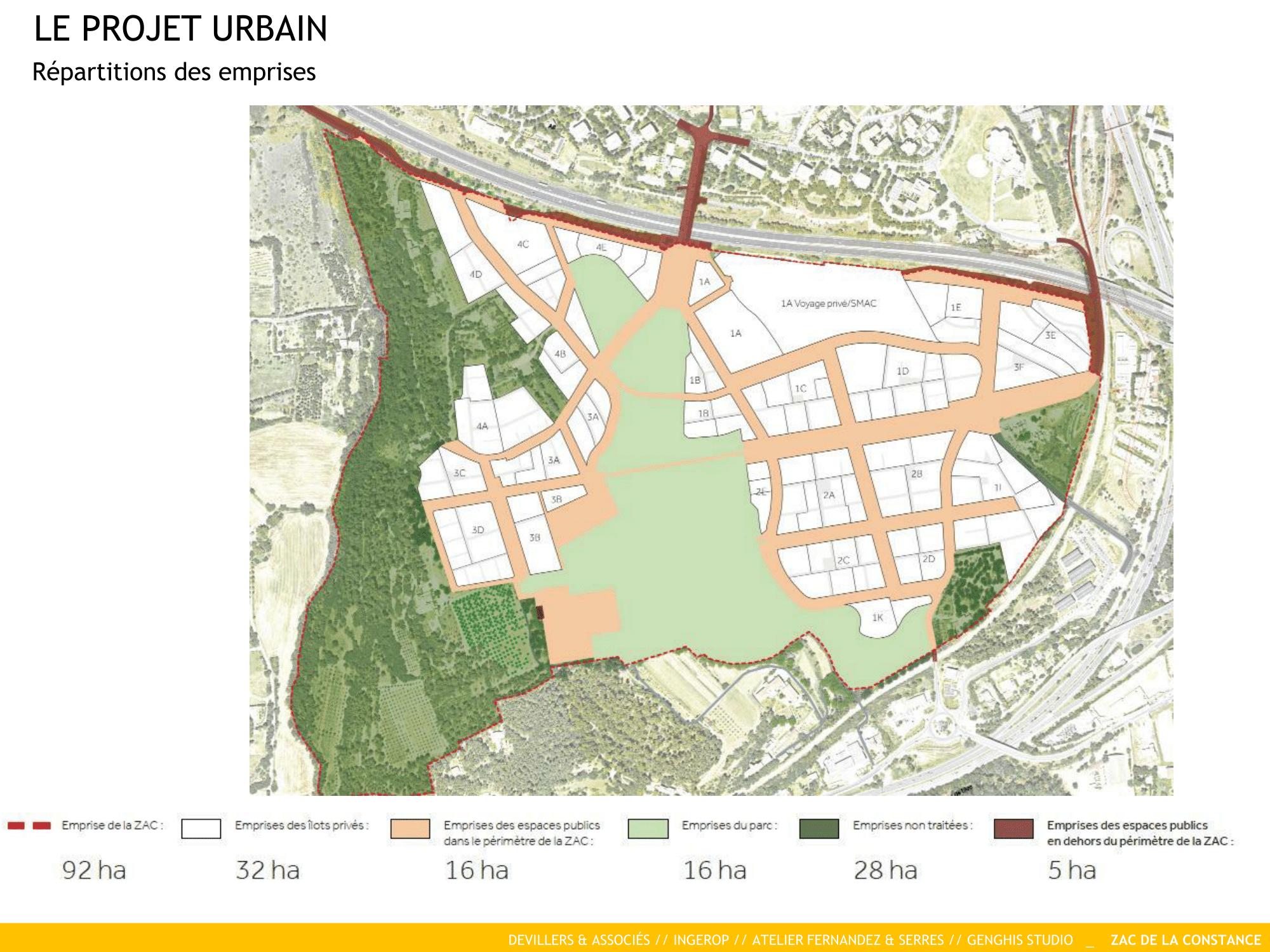 La Constance : un projet urbain