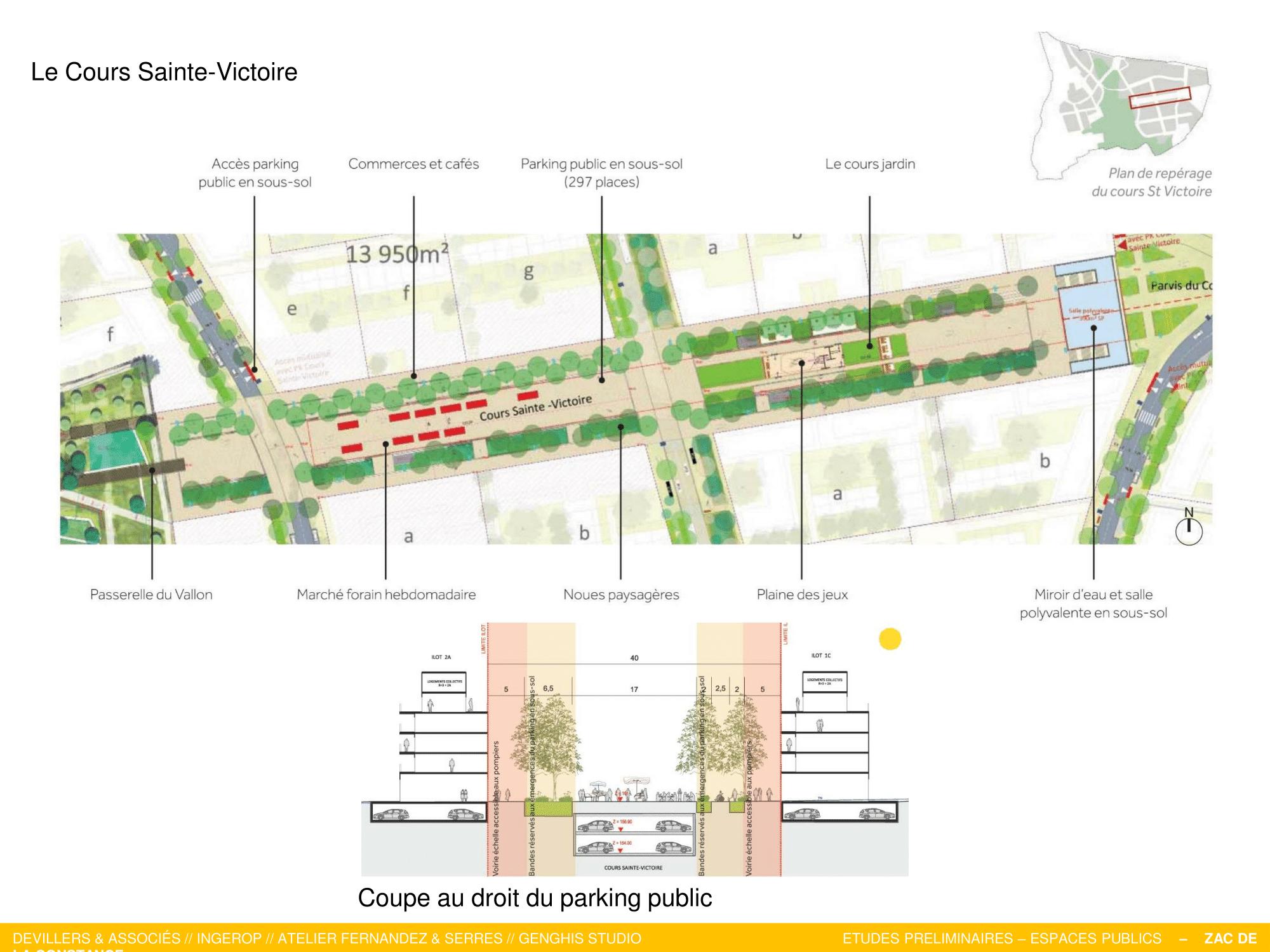 La Constance : Le Cours Sainte-Victoire