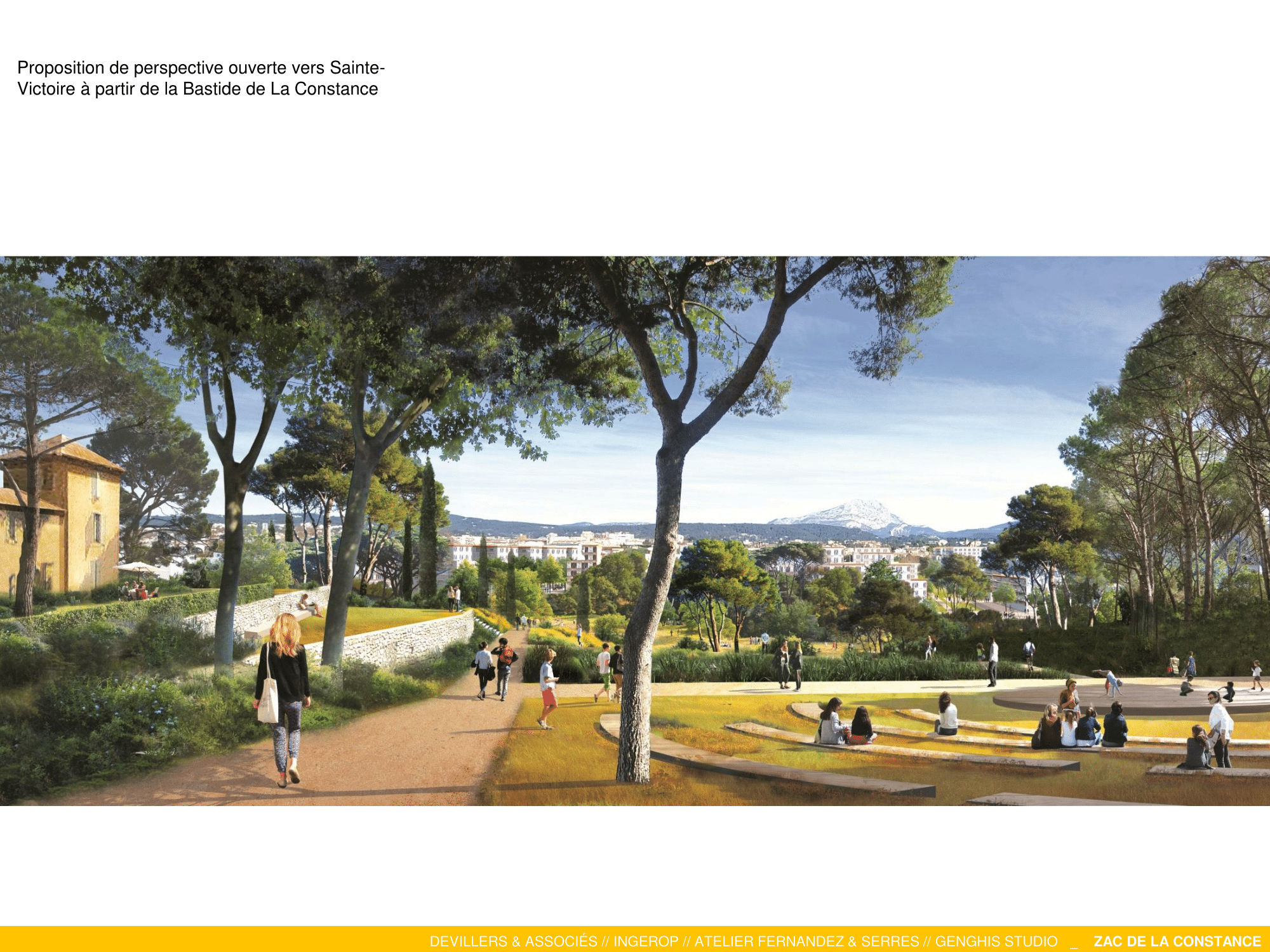 Le parc de La Constance